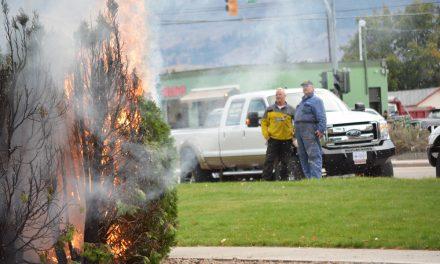 Man arrested after fire near A&W restaurant