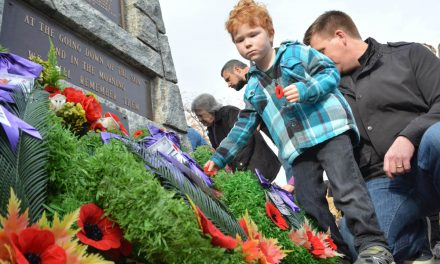 Many residents remember sacrifices of the fallen