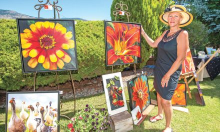 Idyllic garden settings to showcase works of local artists