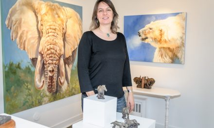 Artist Kindrie Grove is passionate about animals and teaching