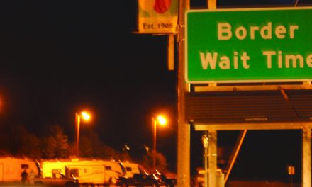 NEW U.S. SIGNS, CAMERAS INDICATE TRAFFIC CONDITIONS AT BORDER