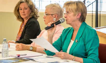 Larson floats Osoyoos-Oliver amalgamation at seniors' candidate forum dominated by health issues