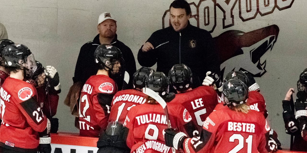 Rigby excited for first full season as Coyotes coach