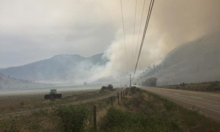 Great teamwork cited by Anarchist Mountain fire chief for bringing brush fire quickly under control