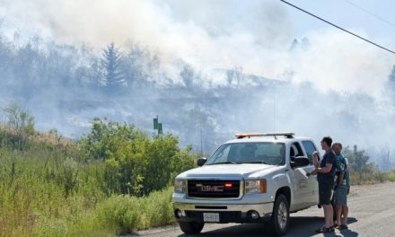 Crews hit wildfire fast and hard