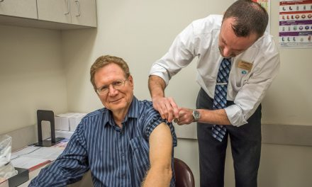 It's the time of year for flu shots