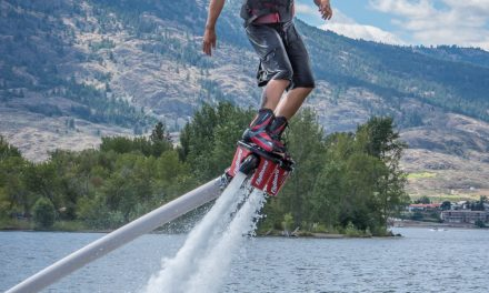 More than birds can fly – Team CanFly presents spectacular flyboarding demonstration