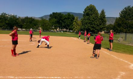 Girls softball camp takes centre stage in Oliver