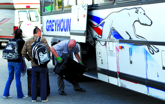 No Local Route Changes For Now Greyhound Timeschronicle Ca
