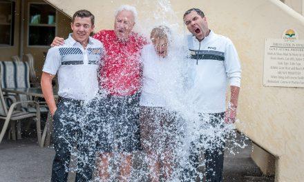 ALS Ice Bucket Challenge makes impact here