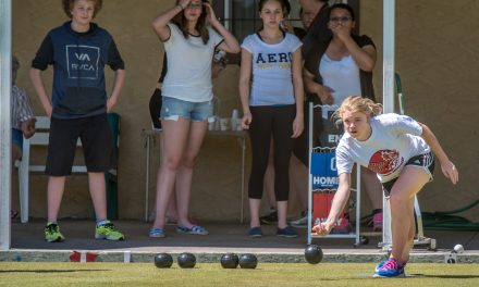 OSS students show lawn bowling can appeal to young