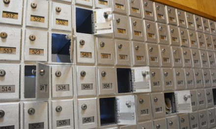 Thieves rip open mail boxes at post office