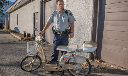 RCMP seek owner of abandoned scooter