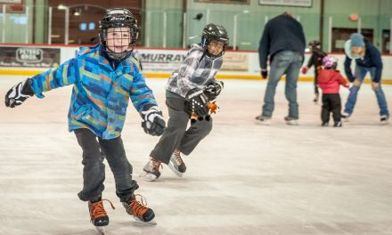 Family Day Free Skate held at Sun Bowl Arena