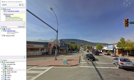 GOOGLE LAUNCHES STREET VIEW FEATURE FOR OSOYOOS