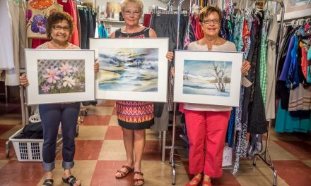 Watercolour paintings donated to Osoyoos United Church Thrift Shop