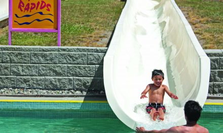 USING ULTRA VIOLET SANITATION AT WATERSLIDES PARK DOESN'T FIT WITH HEALTH REGULATIONS