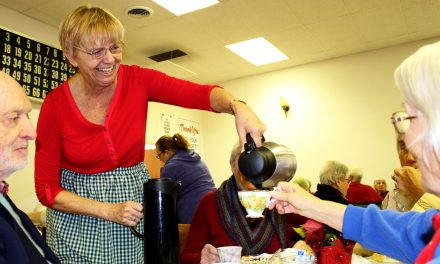 Ladies Auxiliary fill Elk's Hall with Christmas cheer – and tea