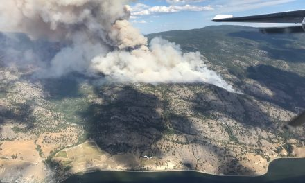 UPDATE: Thousands on evac alert as fire grows to 1,400 hectares south of Penticton