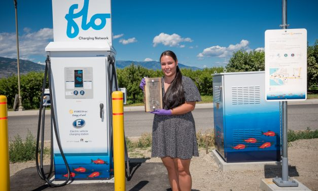 New EV charging stations unveiled, showcase OIB youth artwork