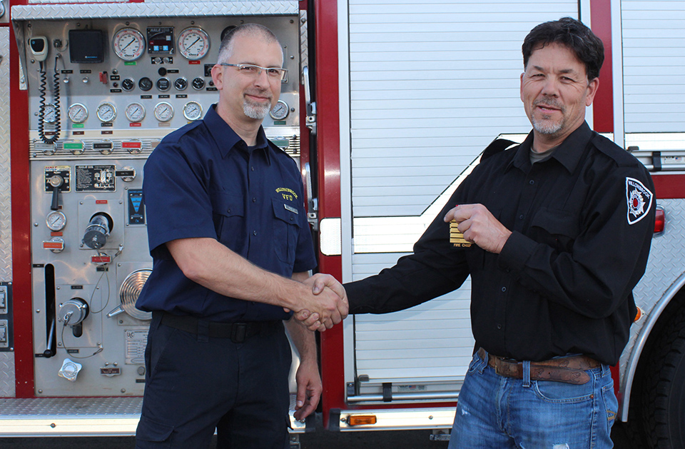 Willowbrook gets newer fire engine and new chief