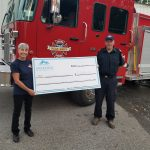 Anarchist Mountain fire department receives $5000 donation