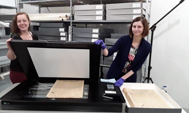 Society digitizes Oliver's newspaper heritage