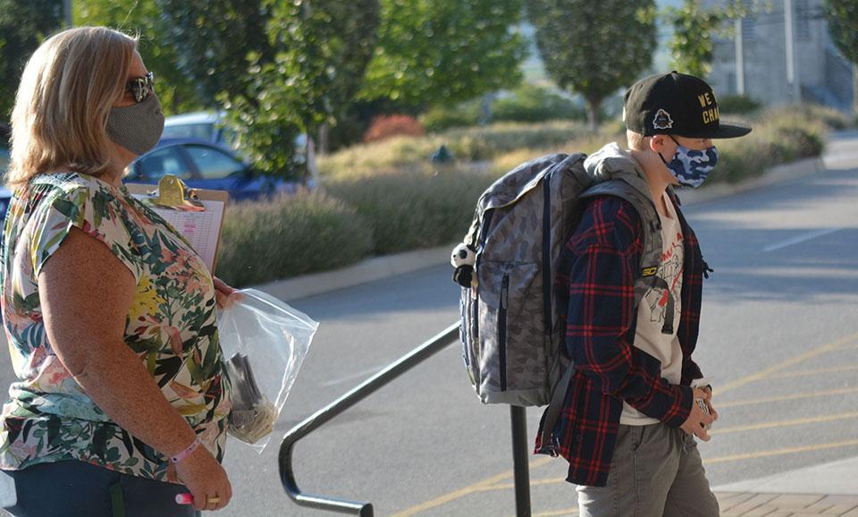 High school principals report smooth return