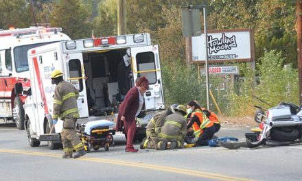 Update: Police suspect alcohol in motorcycle collision
