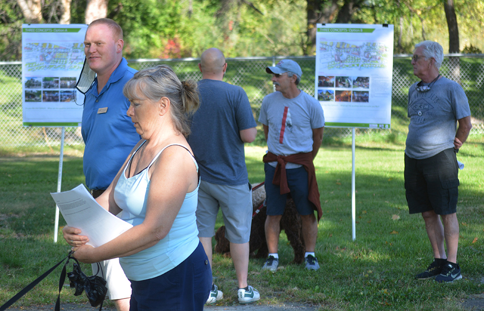 Town hears feedback on proposed community plaza