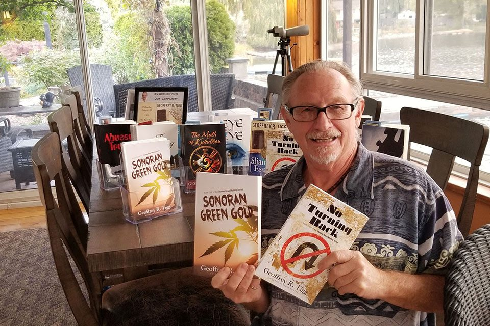 Local author celebrates release of books