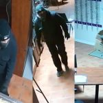 Two men sought after theft from Oliver business