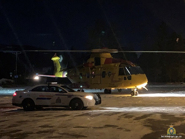 Canadian Armed Forces rescue officer, suspect from ravine