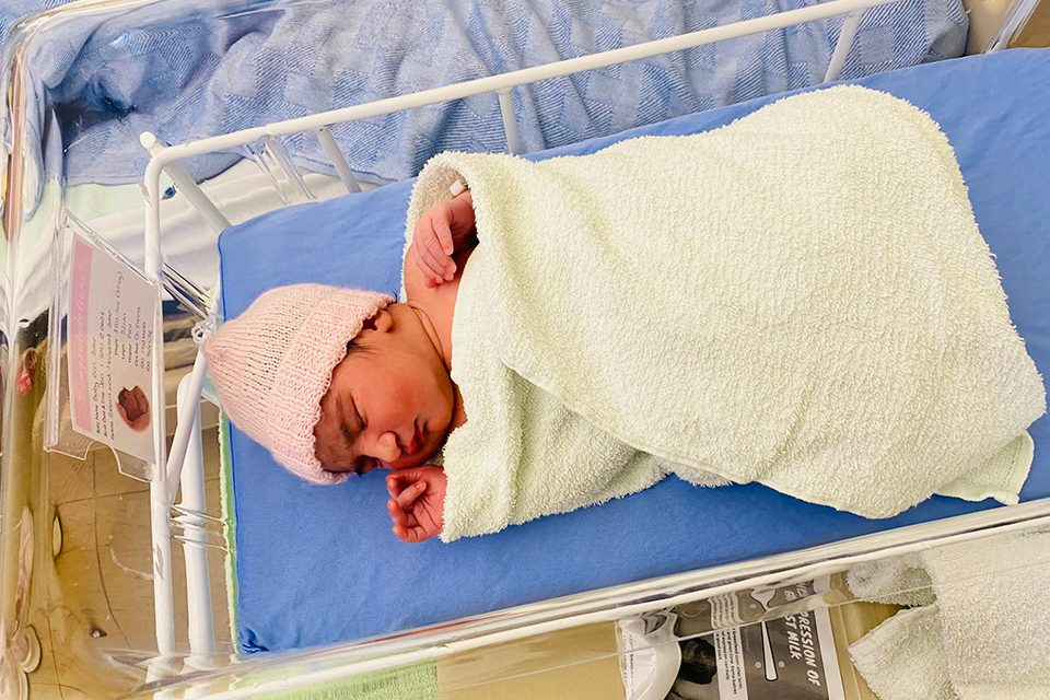Osoyoos parents welcome New Year's baby