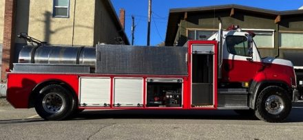 Oliver Fire Department ingenuity saves town money