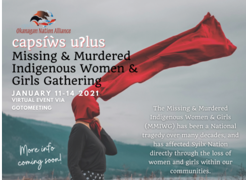 ONA hosting second annual gathering addressing missing and murdered women and girls